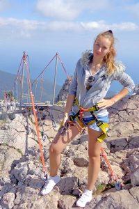 Анастасия Савенкова - связист крымской тургруппы