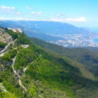 Большая Ялта - вид с Крымских гор