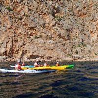 Морские походы на каяках в Крыму