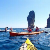 Морской поход на каяках в Крыму