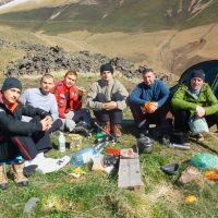 Начало восхождения на Эльбрус