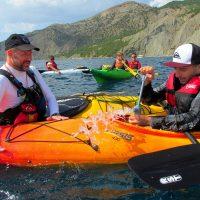 Морской поход на каяках Балаклава - Инжир