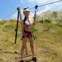 100 км/ч на троллее в Крыму