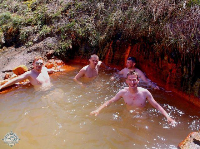 Ванна в тёплых источниках Джилы-Су