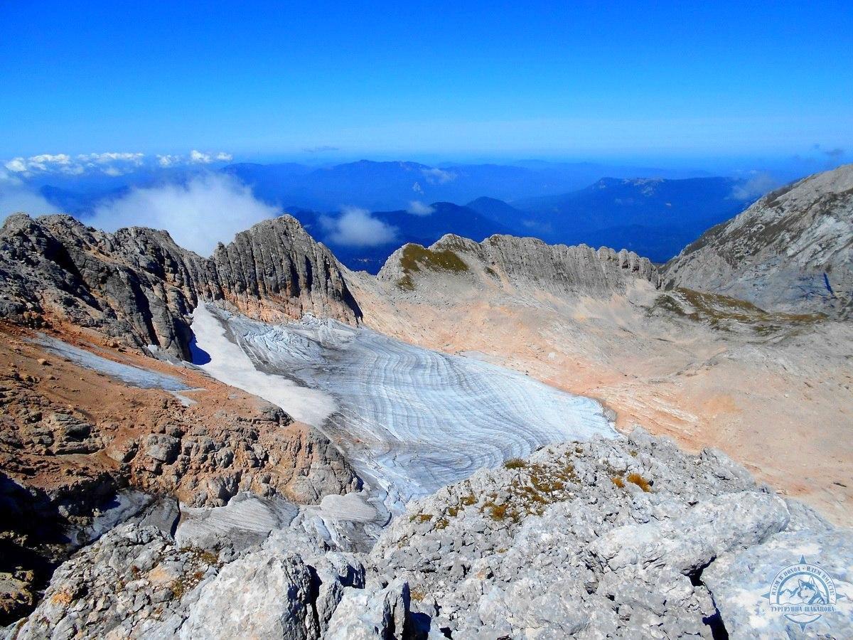 На вершине горы Фишт (Лагонаки)