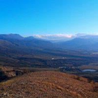 Вид с Долгоруковской яйлы