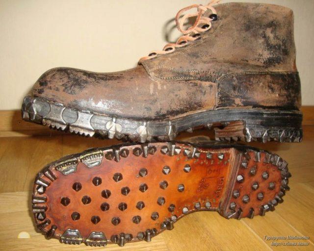 Швейцарские горные ботинки «Трикони»