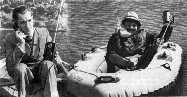 Первый сотовый телефон (1957 г.)