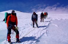 Передвижение по снегу и льду в горах